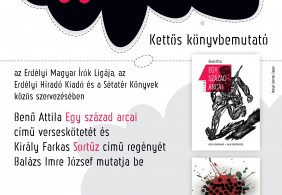 Király Farkas és Benő Attila friss köteteinek bemutatója