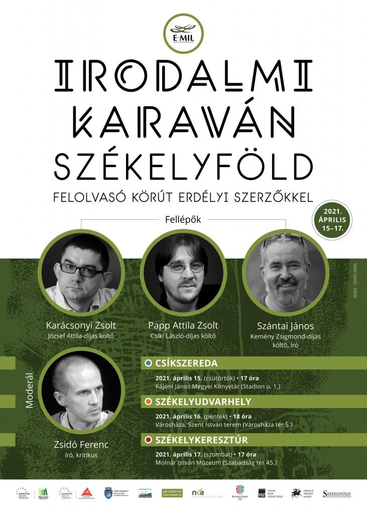 E-MIL EHK irodalmi karavan plakat 00